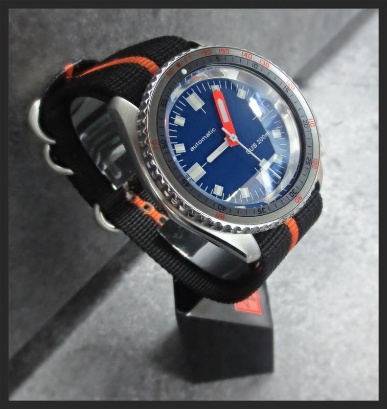 CARIBBEAN BLUE SOXA-MODIFIED SKX DOUBLE-DOMED SAPPHIRE