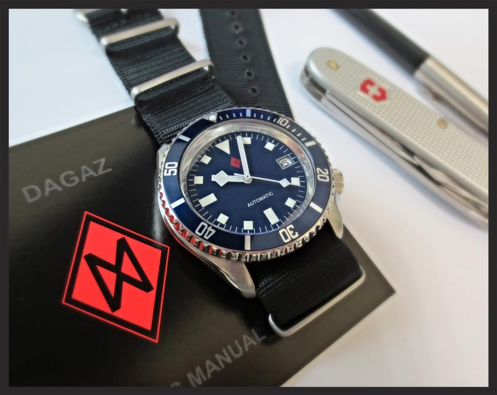 SKX- BLUE SNOWFLAKE with SUPERDOME CONVERSION mod - DAGAZ