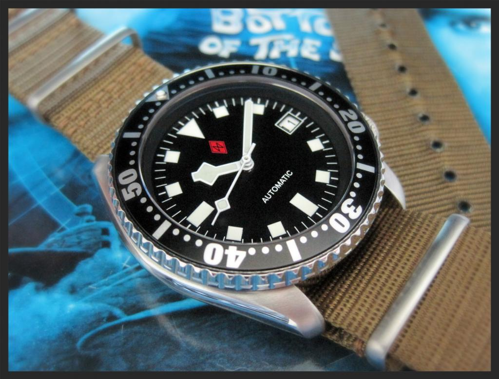 SKX- SNOWFLAKE with SUPERDOME CONVERSION mod - DAGAZ WATCH LTD