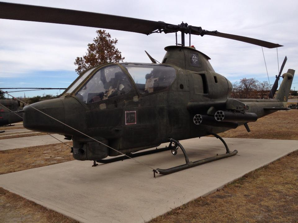 CAV-1 Prototype at the 1CD Museum at Ft. Hood, TX
