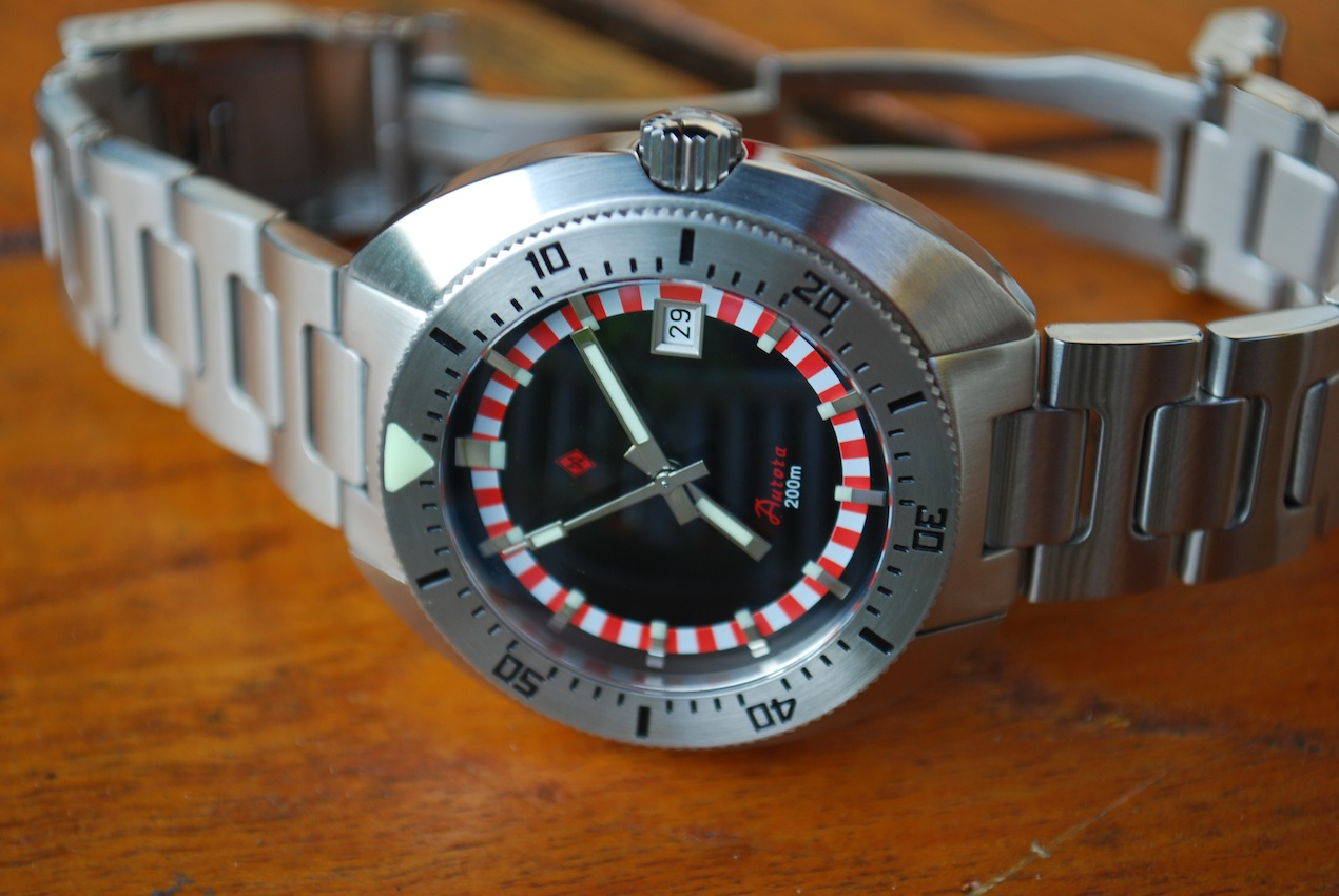 "DAGAZ MODEL ""AURORA"" 200m DIVE WATCH"